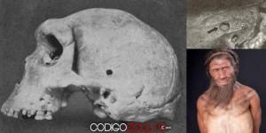 Enigmas de la Prehistoria: Cráneo con «agujero de bala» (125.000 A.C.)