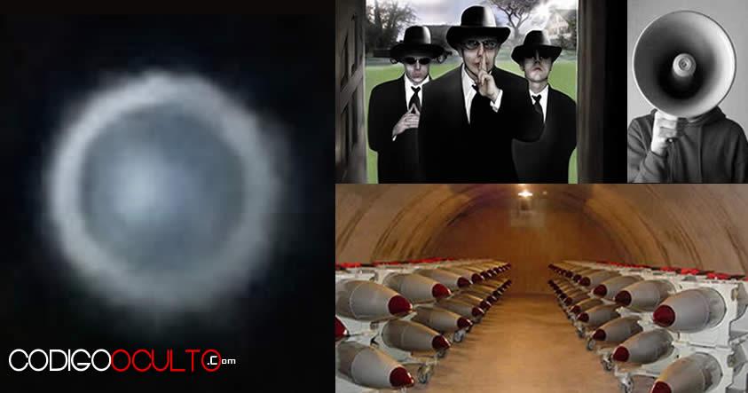 Ex Policía admite que vio un OVNI sobrevolar armas nucleares en Base de la Real Fuerza Aérea