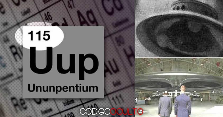 El Elemento 115 sugerido como el «combustible de Ovnis» es agregado a la Tabla Periódica