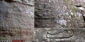 Los jeroglíficos egipcios en Australia que podrían reescribir la historia