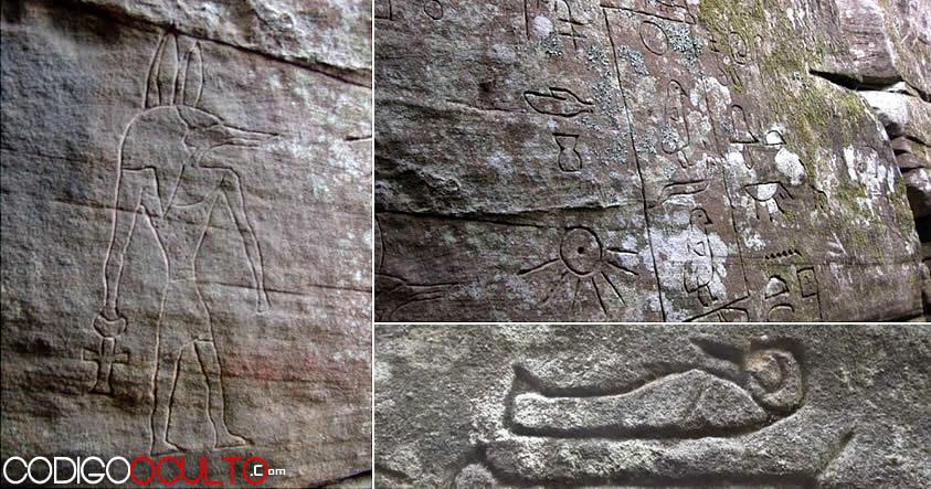 Los «jeroglíficos egipcios» en Australia que podrían reescribir la historia