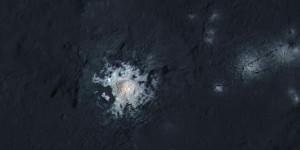 Las manchas brillantes en Ceres podrían ser portales al interior