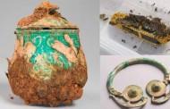 Nuevas imágenes del valioso tesoro vikingo encontrado en Escocia