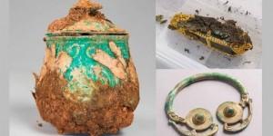 Nuevas imágenes del valioso tesoro vikingo encontrado en Galloway