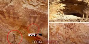 Huellas no humanas de 8.000 años en una cueva de Egipto