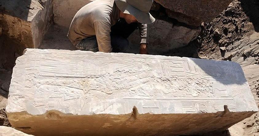 Descubren una construcción realizada para la primera mujer Faraón