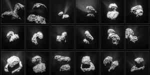 Astrónomos: «El cometa Chury (Rosetta) ha estado cambiando de color»