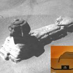 La entrada a la Esfinge: Imagen muestra posible entrada en la Gran Esfinge de Giza