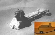 ¿Una cámara secreta en la Esfinge? Imagen muestra posible entrada en la Gran Esfinge de Giza