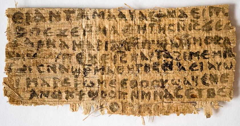 Según antiguo manuscrito egipcio, Jesucristo podía cambiar de forma