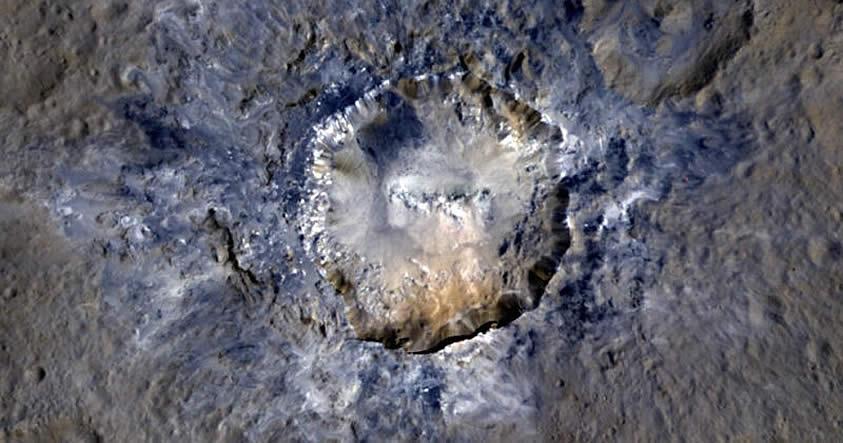 La más cercanas imágenes de los puntos brillantes de Ceres revelarían cómo se formaron