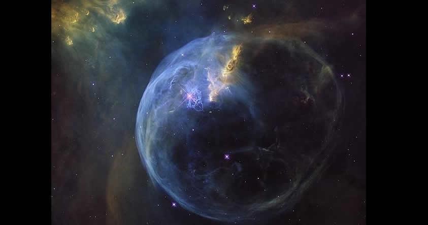 Telescopio Hubble fotografía una «burbuja» gigante en el espacio