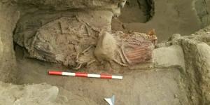 Momia de mujer de hace 4.500 años en Caral revela igualdad de genero entre sus pobladores