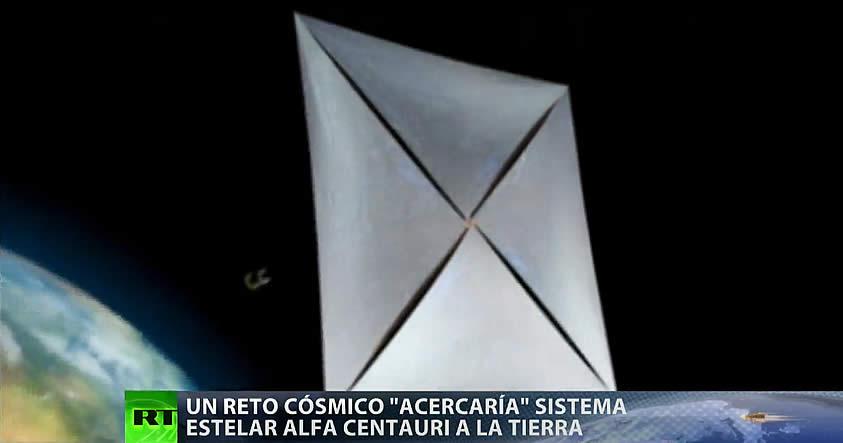 Lanzarán miles de naves miniatura al sistema estelar Alfa Centauri en busca de vida extraterrestre