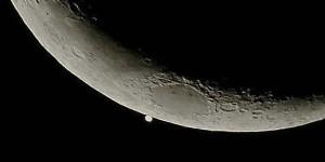 Este 6 de abril (2016) la Luna ocultará al planeta Venus