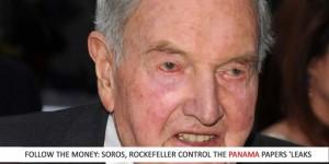 Soros and Rockefeller controlan los Panama Papers Leak