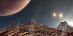 Astrónomos hallan un planeta estable en un sistema triple de estrellas