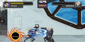 Science Kombat: Un juego retro con los más célebres científicos como luchadores