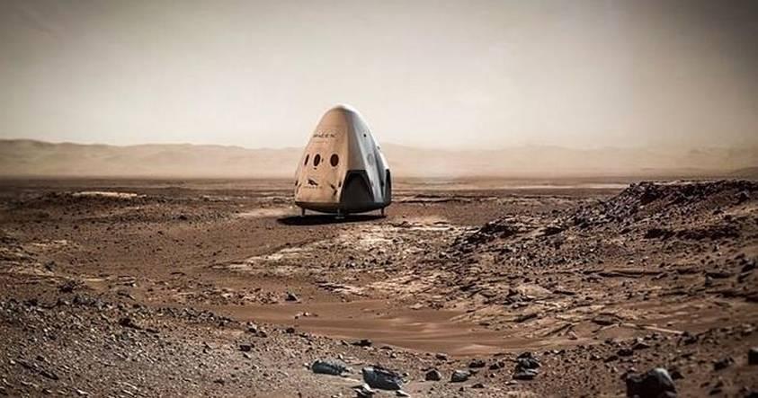 Spacex, de Elon Musk, anuncia su llegada a Marte para el año 2018