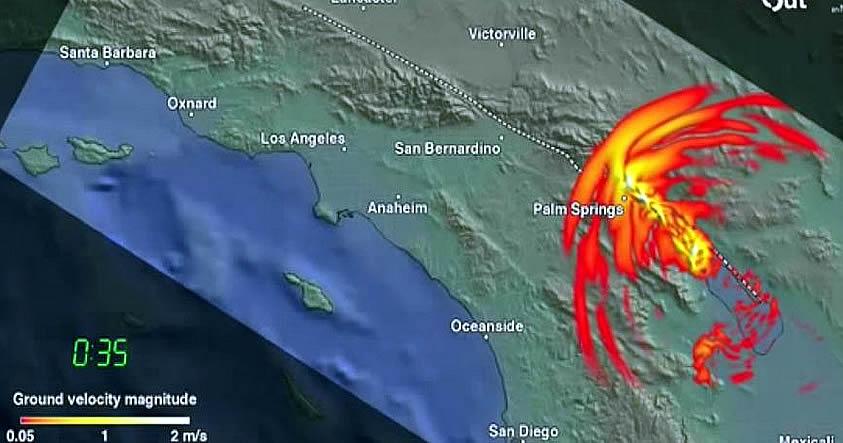 Geocientífico: «Falla de San Andrés podría originar un terremoto de magnitud 8.0»