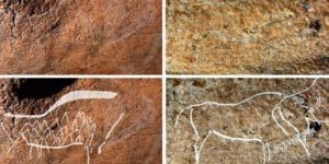 Descubren grabados y pinturas de hace 14.000 años en antigua cueva de España
