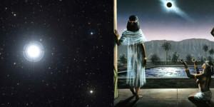 Algol, el sistema estelar descubierto por los antiguos egipcios hace 3.200 años