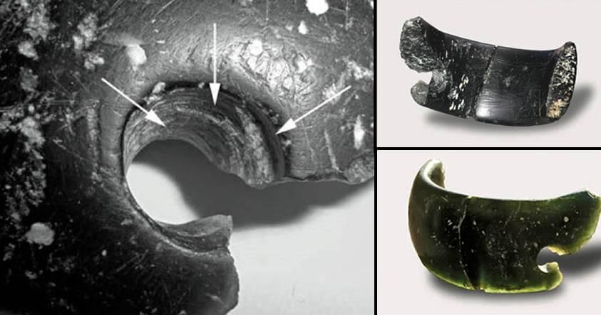 Un brazalete de 400.000 años de antigüedad descubierto en la cueva Denisova