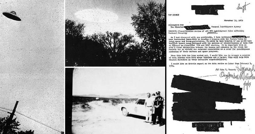 Confirmado por la CIA: Existe actividad extraterrestre en la Tierra