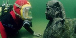 La «Atlántida» egipcia que emerge de las aguas del río Nilo