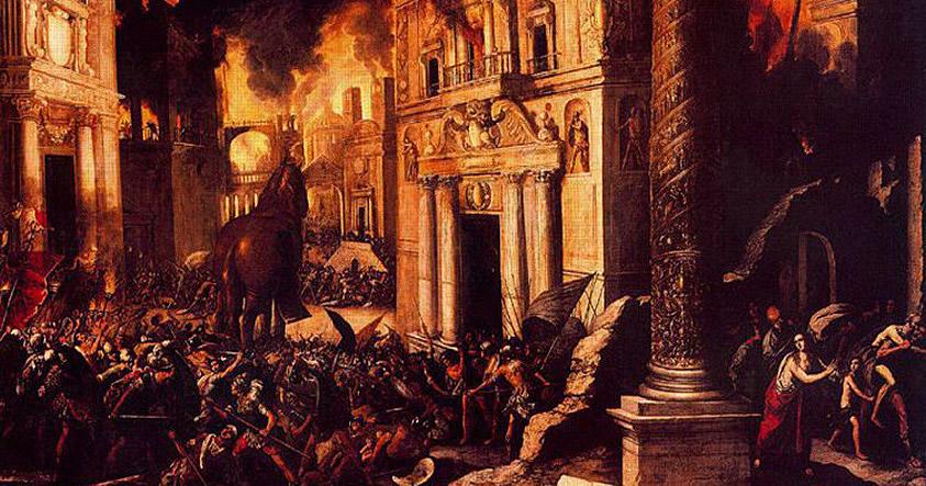 Guerra Mundial Cero: Desaparición de antiguas civilizaciones de la Edad de Bronce