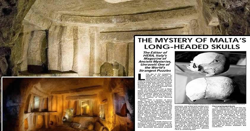Una especie desconocida con cráneo alargado descubierta en una antigua necrópolis