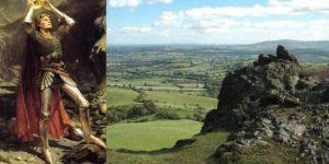 ¿La tumba del Rey Arturo hallada en Shropshire, Inglaterra?