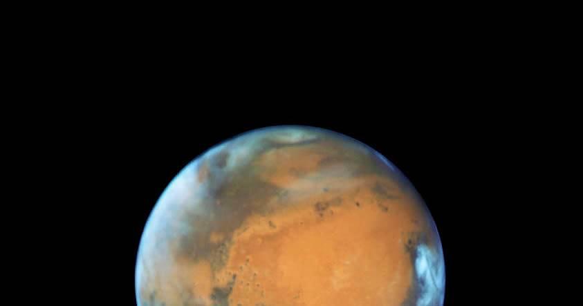 Nuevo retrato de Marte revela cambios extraños en su superficie