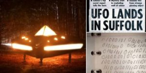 Un mensaje del año 8100 sembrado en la mente de un militar luego de tocar un OVNI