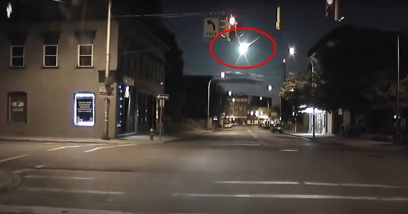 Una enorme bola de fuego es avistada desde 9 localidades de EE.UU.