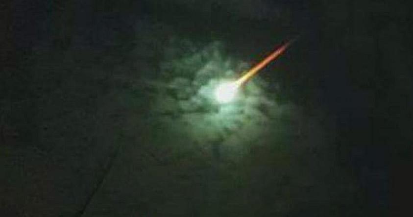 Una «bola de fuego» impacta y causa temblor en Pinamar, Buenos Aires, Argentina
