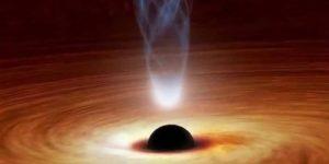 Descubren un agujero negro donde «nacen» las estrellas