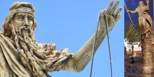Bochica, el dios de piel y cabello blanco de la antigua civilización Muisca en Colombia