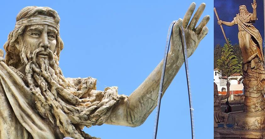 Bochica, el dios de piel y cabello blanco de los antiguos Muiscas y Chibchas en Colombia