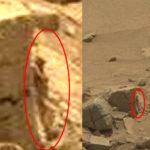 Cazadores de anomalías afirman descubrir un «pequeño humanoide» en Marte