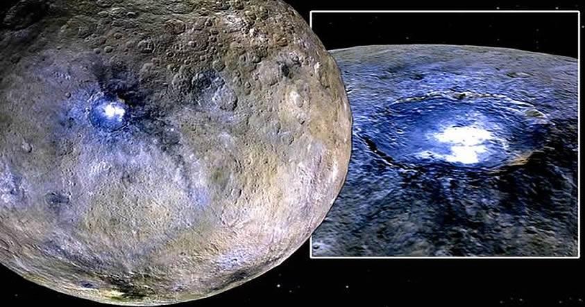 Fluctuaciones de luz en Ceres son una evidencia de «colonias extraterrestres» afirman teóricos de la conspiración