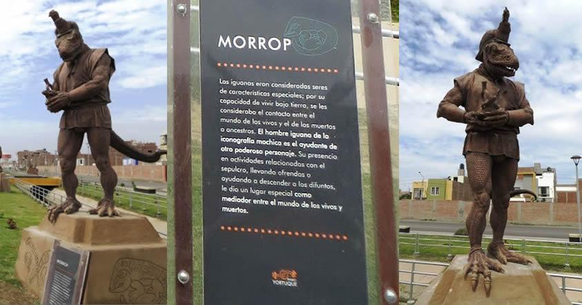 El «Hombre Iguana» o Morrop de los Mochica en Perú ¿la representación de un reptiliano?