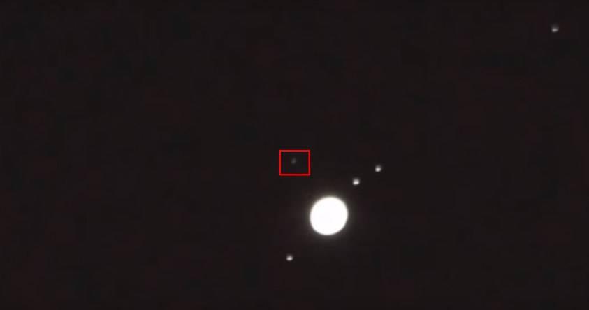 Astrónomo aficionado capta un «enorme OVNI» más allá de Júpiter