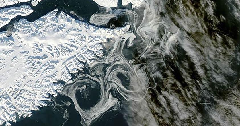 Una gran parte de Groelandia está descongelada bajo la capa de hielo