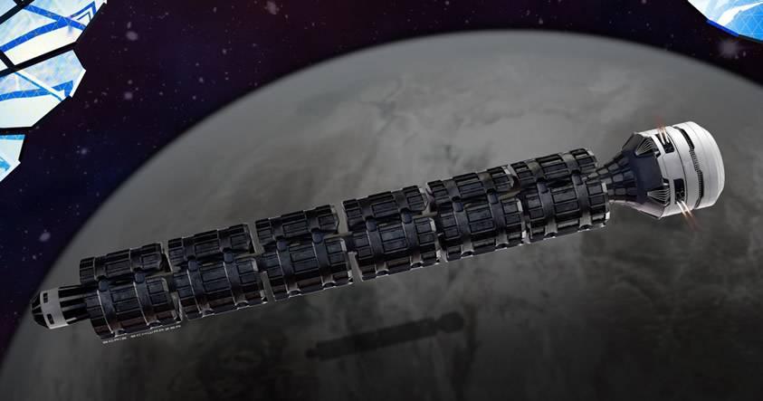 ¿De la Tierra a Marte en menos de 2 días? Conoce a Solar Express, la nave que lo hará posible