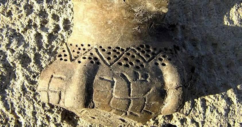 Arqueólogos descubren una esvástica trazada 5.000 años antes que Hitler