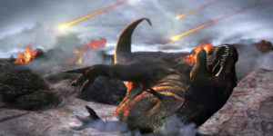 ¿Fue la extinción de los dinosaurios un hecho premeditado para que el hombre pueda existir?