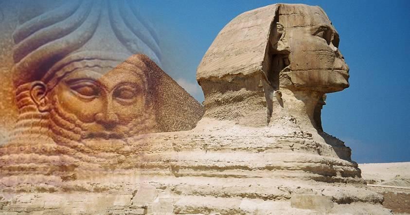 ¿Es la Gran Esfinge de Giza una estructura construida por los Anunnaki?