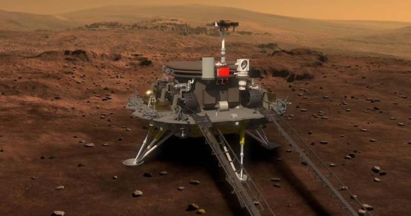 Este es el robot de China que se posará sobre el suelo de Marte en el 2020