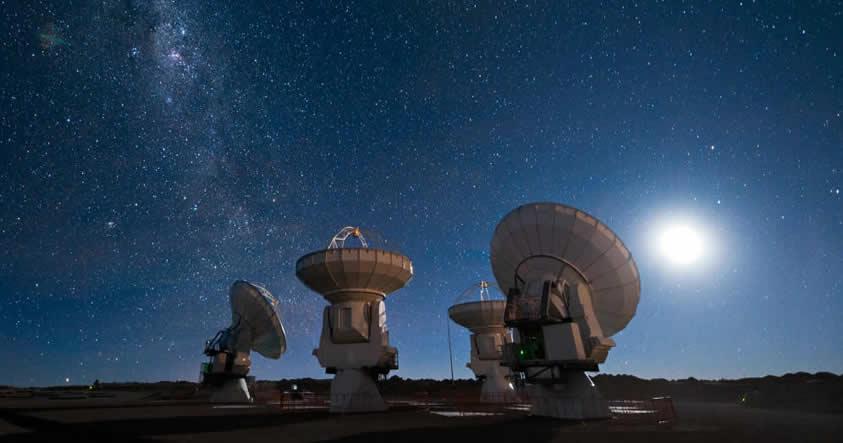 Astrónomos detectan una misteriosa señal proveniente de un sistema planetario cercano